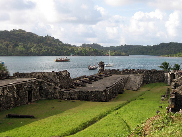 パナマのカリブ海沿岸の要塞群:ポルトベロとサン・ロレンソ