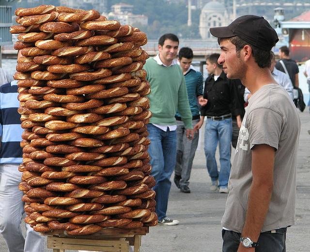 トルコの定番シミット