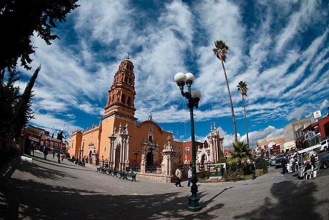 サカテカス歴史地区