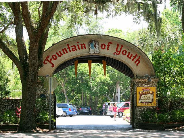 フロリダのfountain of youth