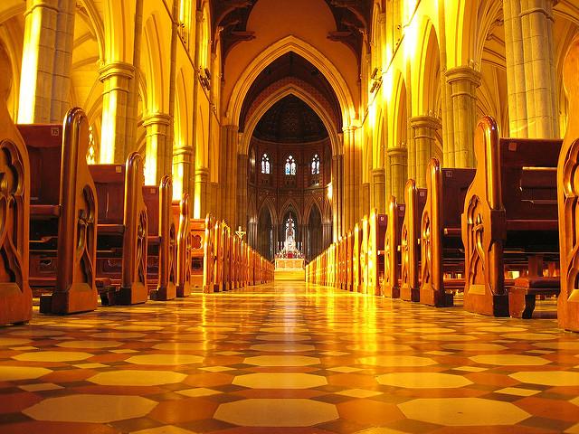 メルボルンの美しすぎるセントパトリックス大聖堂