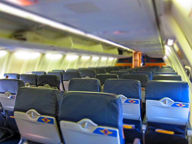 機内の冷房対策は万全にしよう