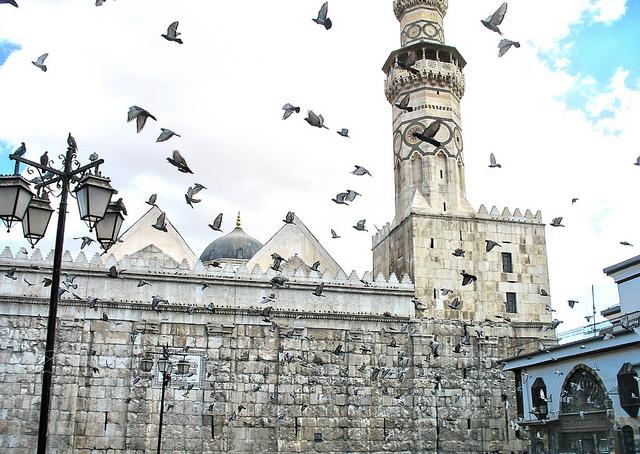 古代都市ダマスカス