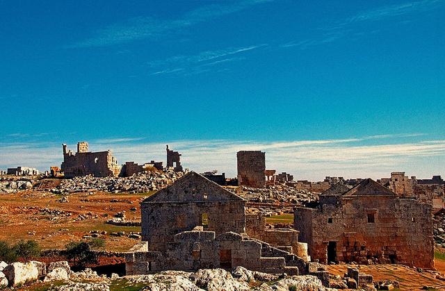 シリア北部の古村落群