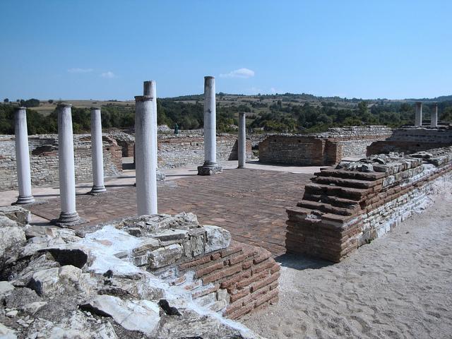 ガムジグラード‐ロムリアーナ、ガレリウスの宮殿