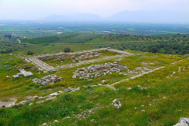 サモス島のピュタゴリオンとヘラ神殿
