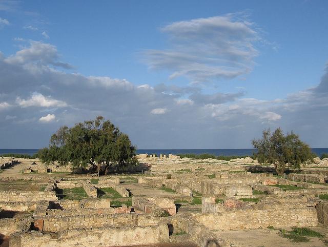 ケルクアンの古代カルタゴの町