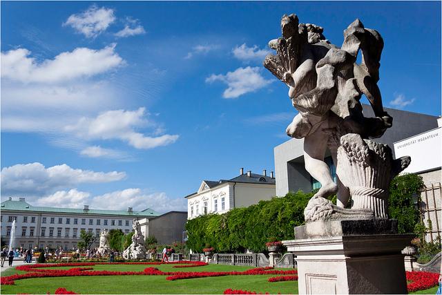 ザルツブルク市街の歴史地区