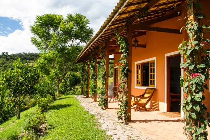 ブラジルのガーデンハウス