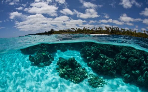 ニューカレドニアのラグーン