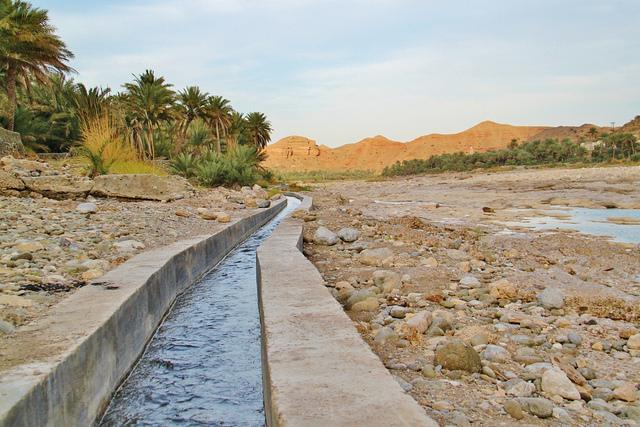 アフラージュ、オマーンの灌漑システム オマーン 世界遺産