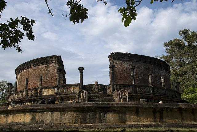 古代都市ポロンナルワ