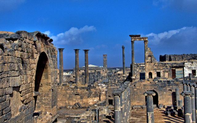 シリア北部にある古代村落群