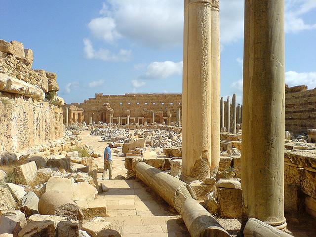 サブラータの古代遺跡