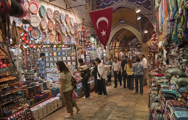 イスタンブールのバザール