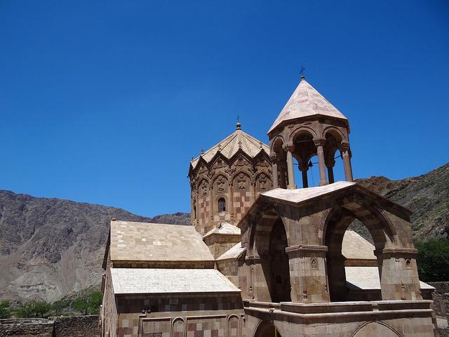 イランのアルメニア修道院群
