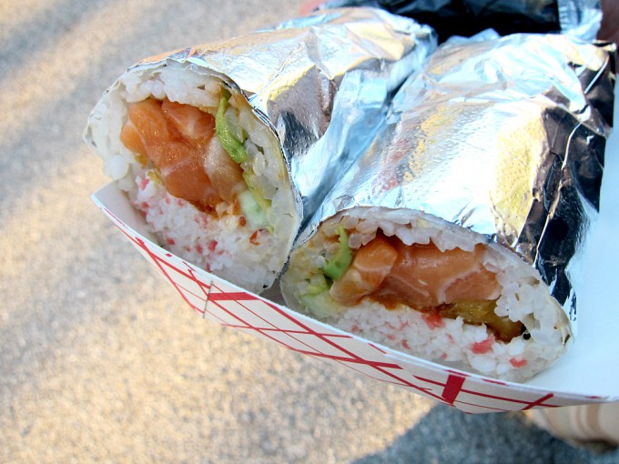 寿司ブリトー
