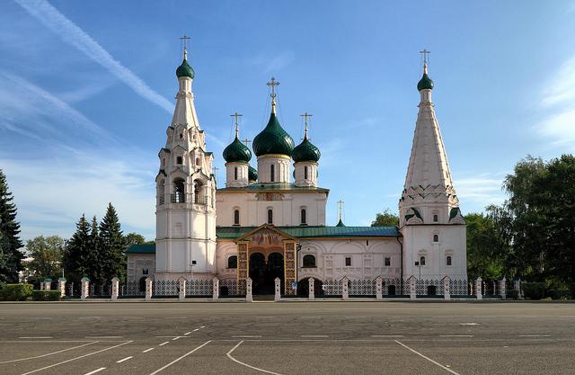 ヤロスラヴル市街の歴史地区