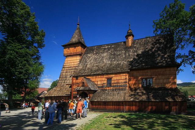南部小ポーランドの木造教会群