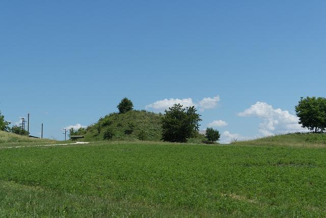 スヴェシュタリのトラキア人の墳墓
