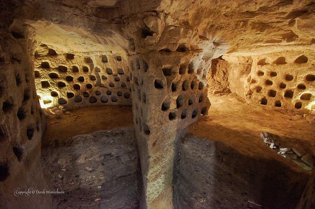 ユダヤ低地の洞窟世界マレシャとベト・グヴリン