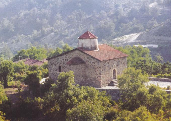 トロードス地方の壁画教会群 キプロス 世界遺産