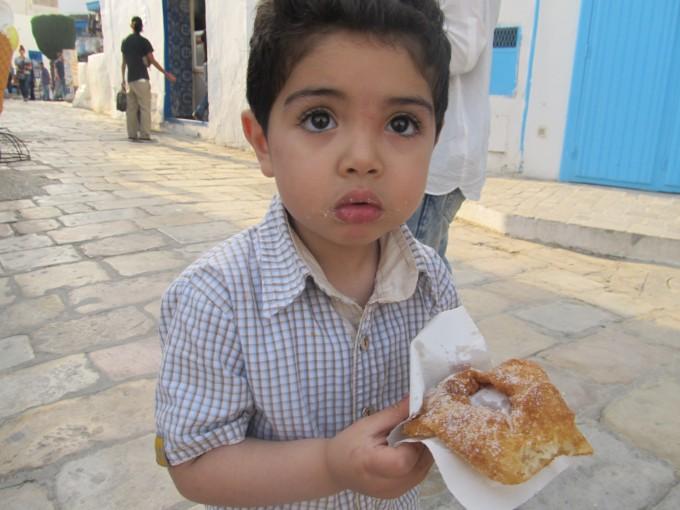 チュニジアで出会った男の子