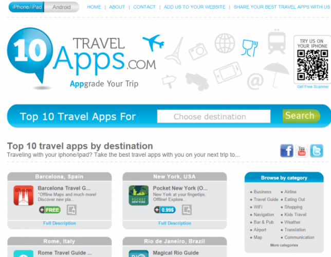 TOP10TRAVELAppsCOM
