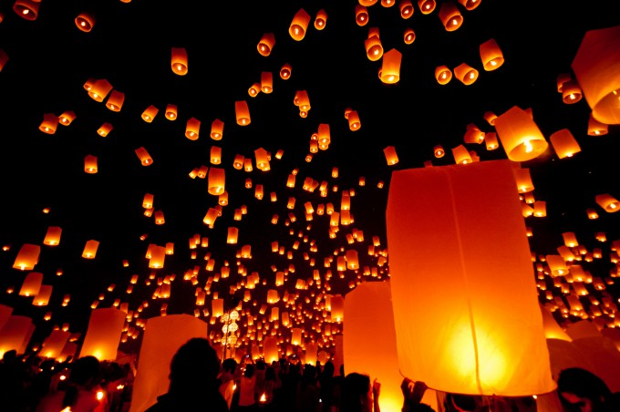 The Yeepeng Chiang Mai Festival