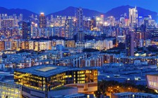 hong kong urban city