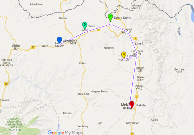 map aksum