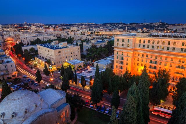 Evening in Jerusalem