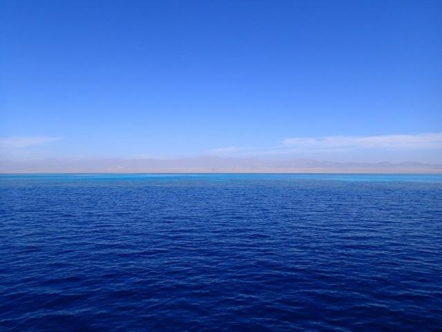 紅海にあるシャルムエルシェイク。世界各国からダイバーが集まる場所
