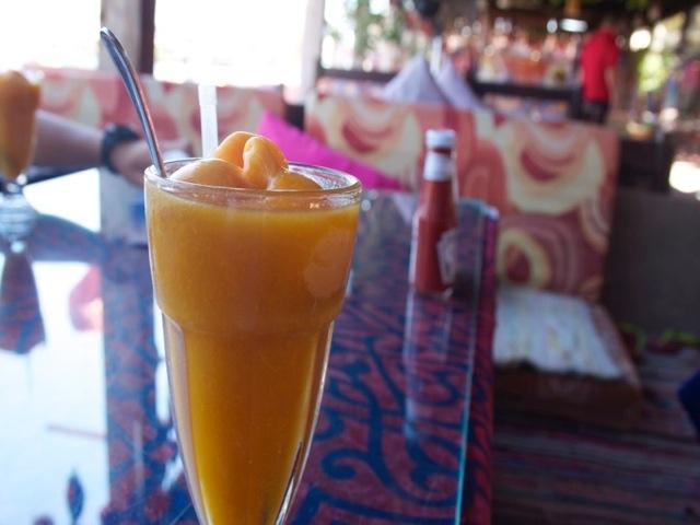 ダハブで大人気の「マンゴーマンゴー」価格は約100円