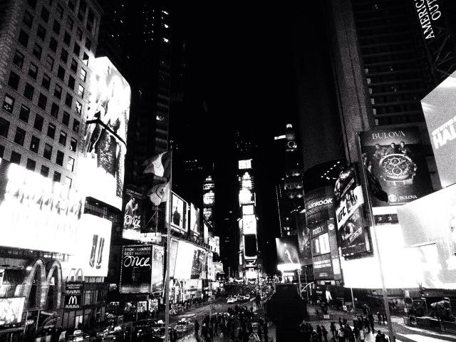 ニューヨークの年越しにおむつ?