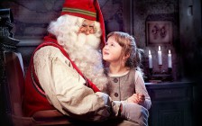 サンタクロースと写真を撮ろう