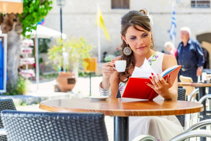読書カフェ