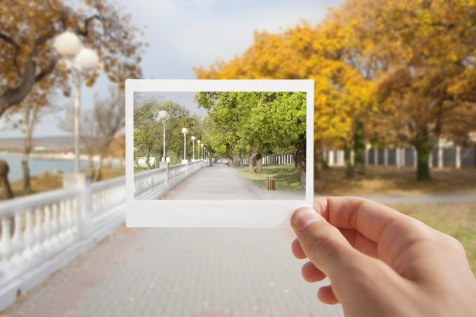 photo in photo