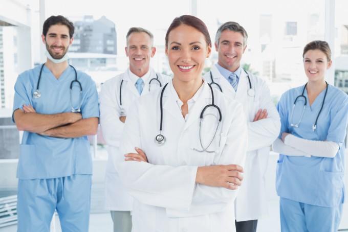 看護師、医者