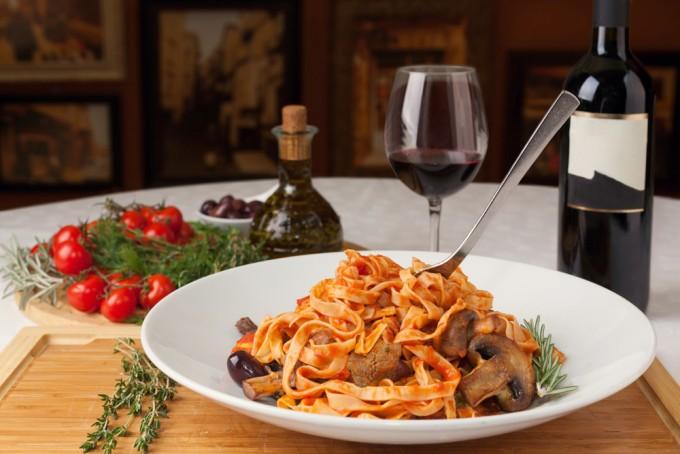 イタリア語でレストラン