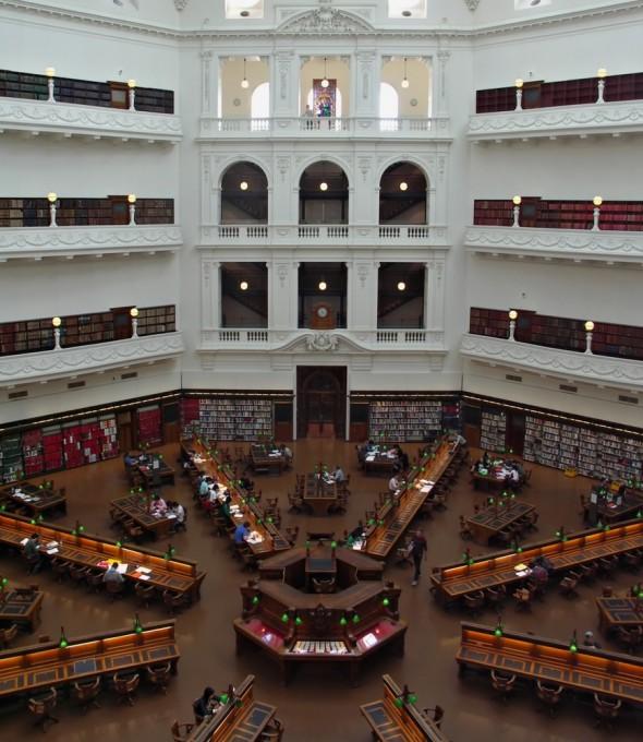 美しすぎるビクトリア州立図書館