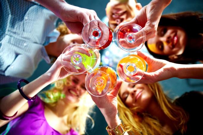 世界で乾杯