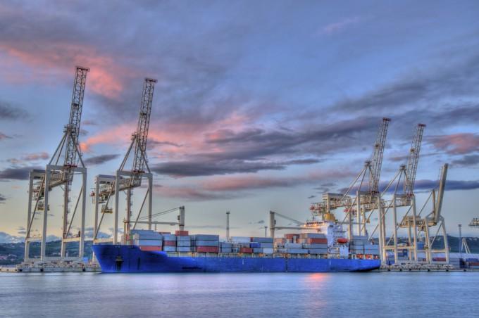 コペルの貿易港