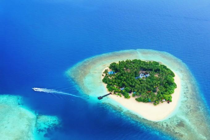 ビットコイン 無人島