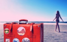 目印にしよう♡スーツケースをデコレーションする17の方法
