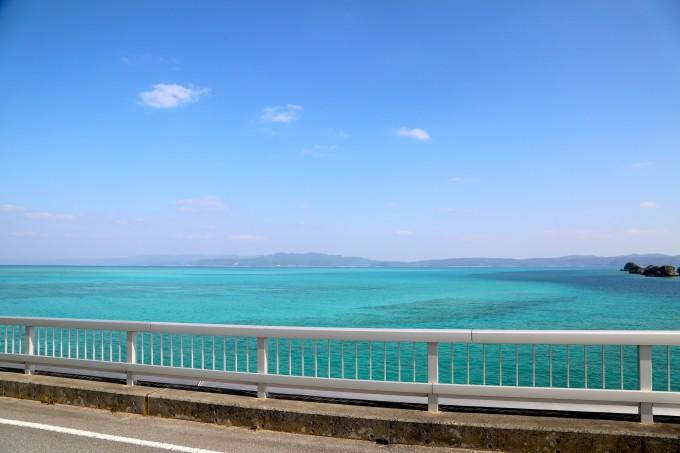 古宇利島の橋から見る絶景